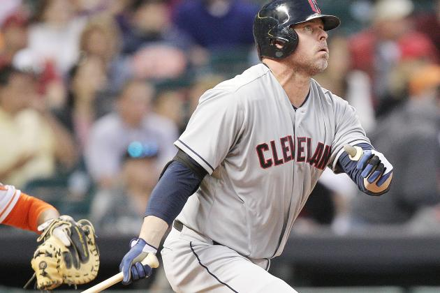 Giambi's Hustle Draws Praise Throughout Clubhouse