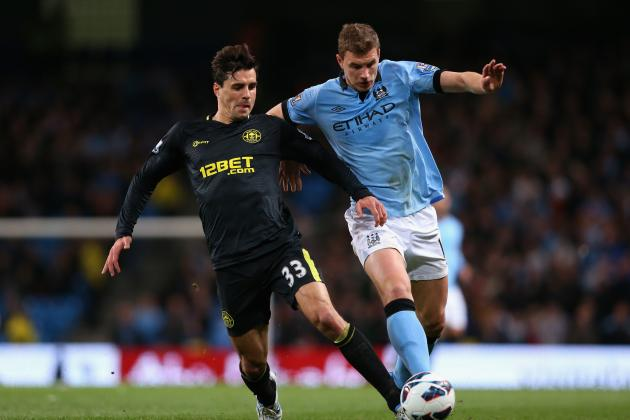 Napoli Try to Get Ball Rolling for Manchester City Striker Edin Dzeko