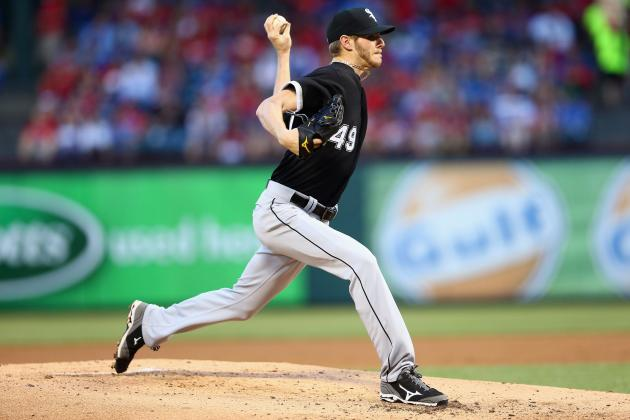 Sale Finishes Strong After 2nd-Inning Escape