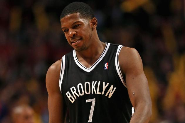 Injured Joe Johnson Admits He's Playing on One Leg