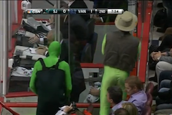 Sharks Announcers Mock Vancouver Canucks Green Men, Virgins
