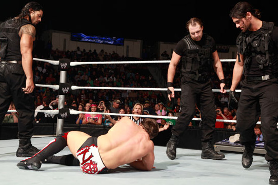 WWE Extreme Rules 2013: Could Daniel Bryan Turn on Kane and Join The Shield?