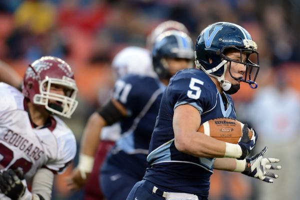 Christian McCaffrey of Valor Christian Commits to Stanford