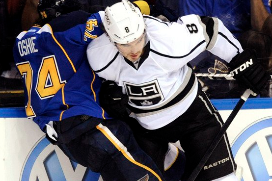 Kings Have to Step Up Play Going into Game 2 at St. Louis
