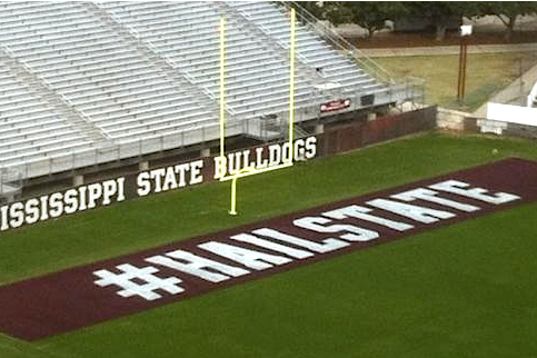 NCAA Football Rules Committee Bans Use of #Hashtags on Football Fields