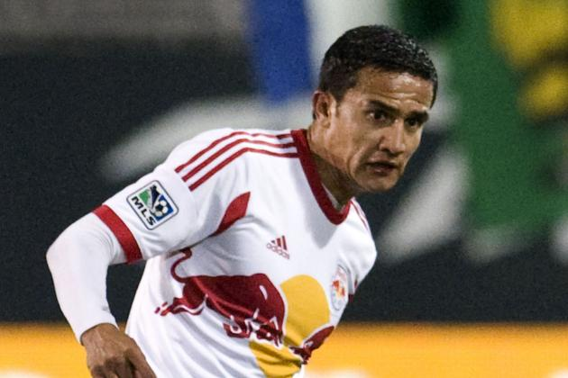 Decimated Red Bulls Midfield Allows Tim Cahill to Shine