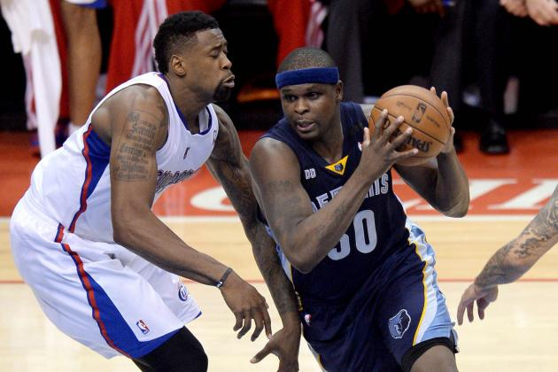 Healthy Zach Randolph Has Made All the Difference for Rugged Grizzlies