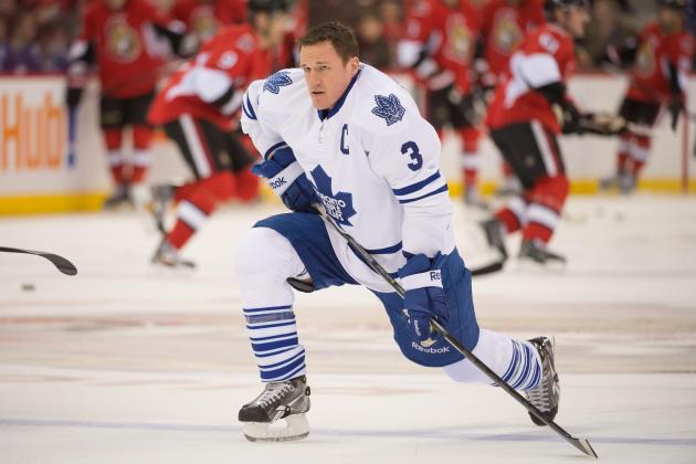 Maple Leafs Captain Phaneuf Expects Better Game 2