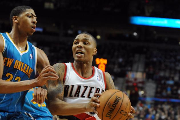Damian Lillard Unanimous Winner of Rookie of the Year over Anthony Davis