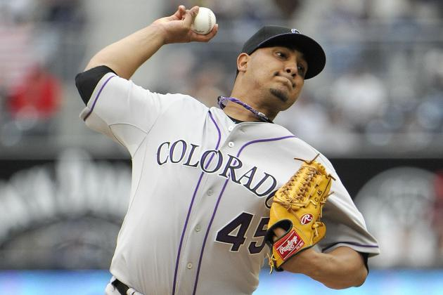 Rockies' Troy Tulowitzki, Jhoulys Chacin Should Return to Action Soon