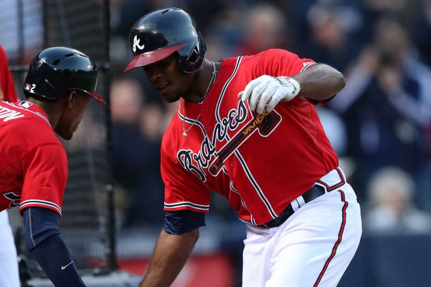 While Brother Justin Rakes, B.J. Scuffles for Braves