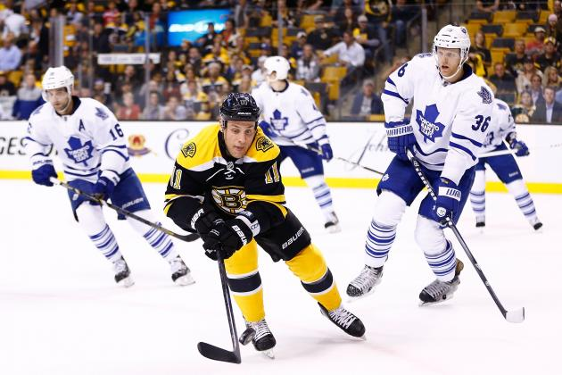 Leafs' Central Weakness Exposed by Bruins
