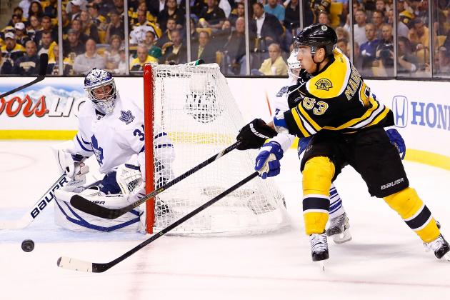Bruins 4, Maple Leafs 1
