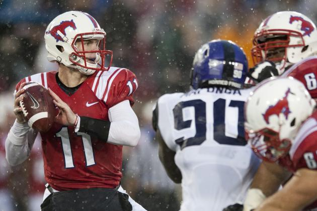 SMU Releases Post-Spring Football Depth Chart