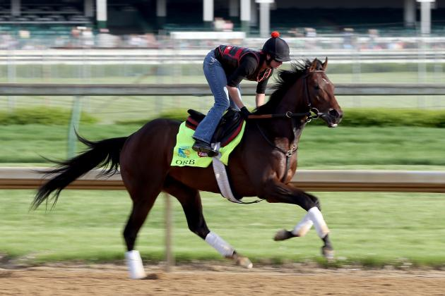 Kentucky Derby: Orb Spooked While Schooling at Churchill Downs