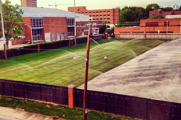 Haslam Field Getting Post-Spring Turf Makeover