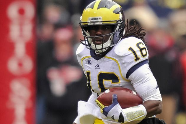 Ex-Michigan QB Denard Robinson May Double as Return Man