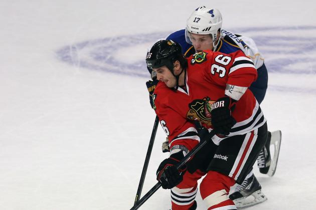 Hawks' Bolland, Emery out for Game 2 vs. Wild