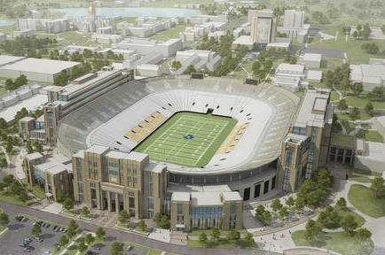 Notre Dame Stadium Might Be Expanded for Other Uses