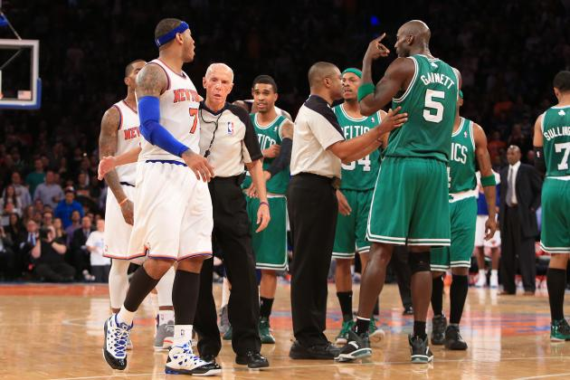 Postgame Fight Shows How Much Boston Celtics, NY Knicks Hate Each Other
