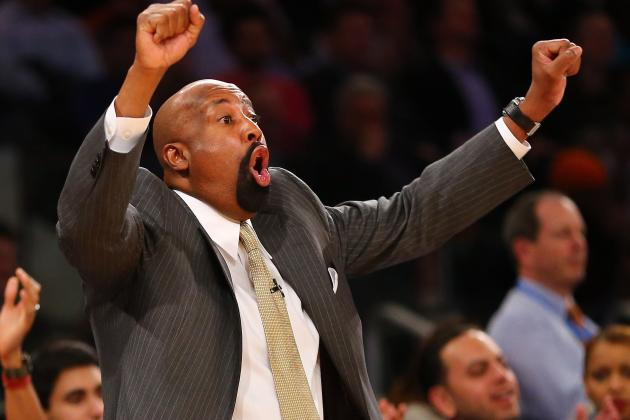 Woodson Furious That Knicks Wore Black to Celtics' Game 5 'Funeral'