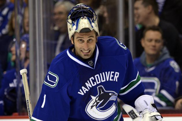 Canucks' Luongo Confirms He'll Start Game 2 Against Sharks