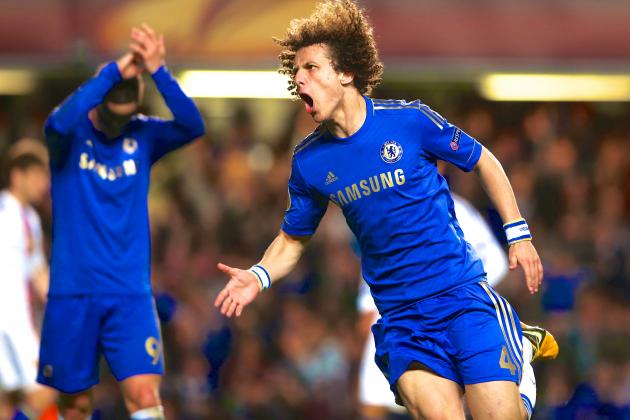 David Luiz Belter Seals Europa League Semifinal Win for Chelsea