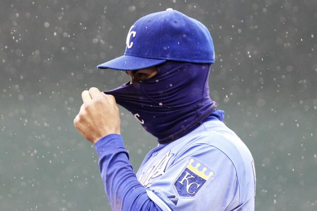 Rays-Royals Get Rained out with Royals Up 1-0 in Fourth