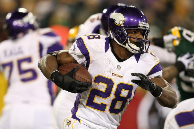 Adrian Peterson Wants 2,500 Yards and a Super Bowl Ring