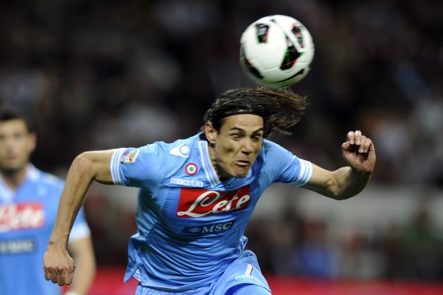 PSG Keenest on Cavani, but Real Madrid Could Swoop as Well