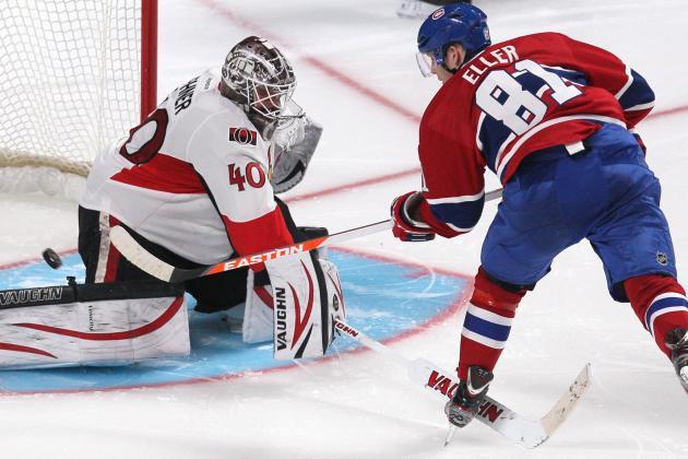 NHL Gamecast: Senators vs. Canadiens