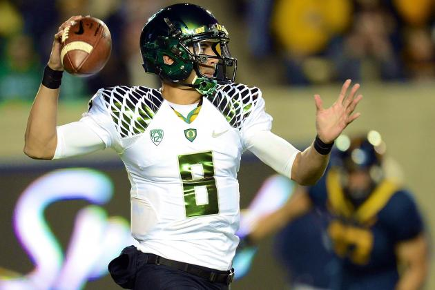 Comparing Marcus Mariota to Other Oregon Duck QB's of the BCS Era