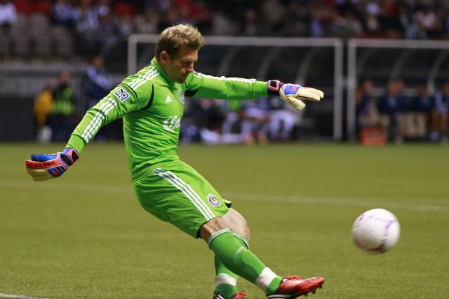 Chivas USA Announce Contract Extension for Keeper Kennedy Through 2016