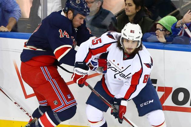 ESPN Gamecast: Rangers vs. Capitals