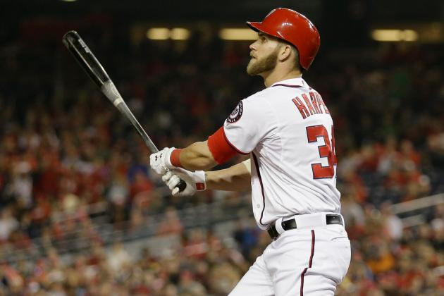 Washington Nationals: Bryce Harper Unanimous April Team MVP