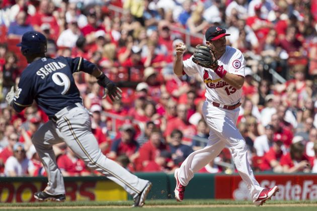 ESPN Gamecast: Cardinals vs. Brewers