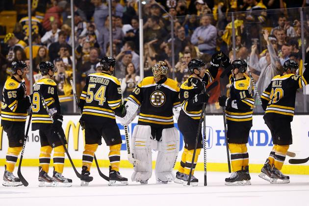 Bruins Not Perfect in Game 1, but Their Style Has Them in the Right Spot