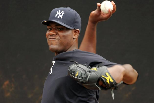Michael Pineda Tops out at 95 Mph in Spring Game