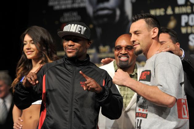 Floyd Mayweather vs. Robert Guerrero Weigh-In: Projecting Pre-Fight Event
