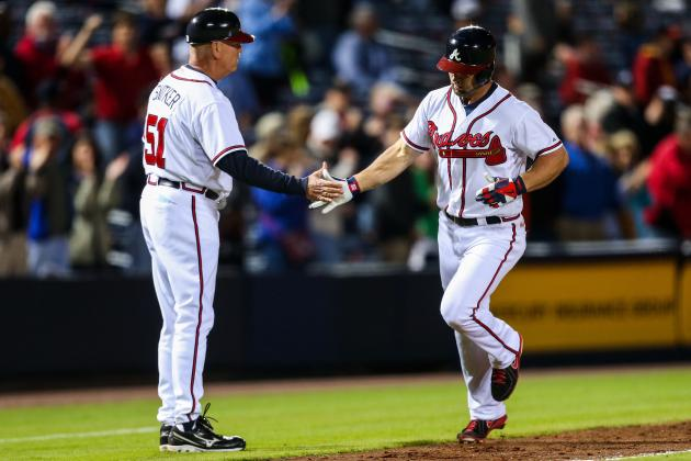 Braves Muster Little Against Haren, Lose 3-1 to Nats