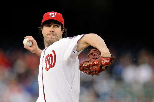 A Heck of an Outing from Haren (Nats Win 3-1, Salvage a Split)