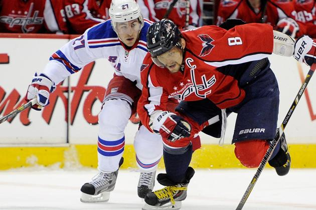 Ovechkin, Capitals Beat Rangers in Game 1