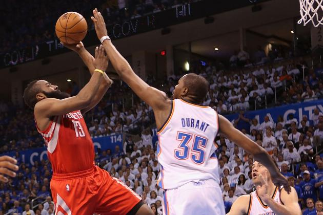 OKC Thunder vs. Houston Rockets: Game 6 Preview, Schedule and Predictions