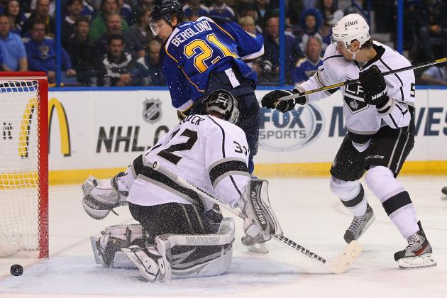 Blues Rally Past Kings on Last-Minute Goal