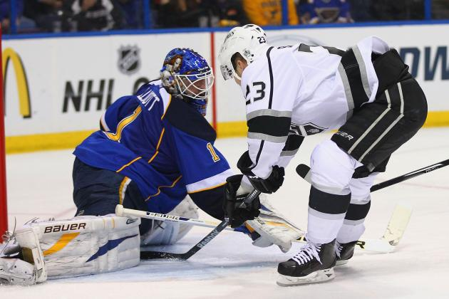 Kings' Offense Is Missing Again in 2-1 Loss to Blues in Game 2