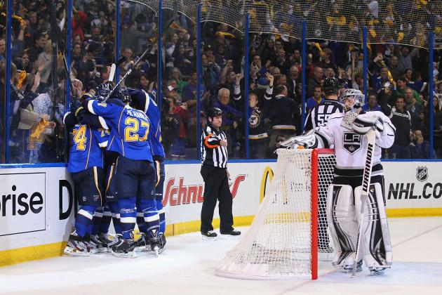 Blues Pull a Role Reversal, Then Pull Even