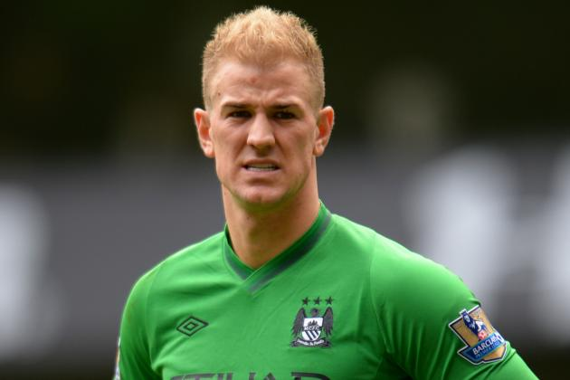 City Keeper Joe Hart Fit to Face Swansea