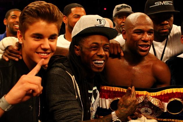 Floyd Mayweather vs. Robert Guerrero: Celebrities Weigh in on Gambling Odds