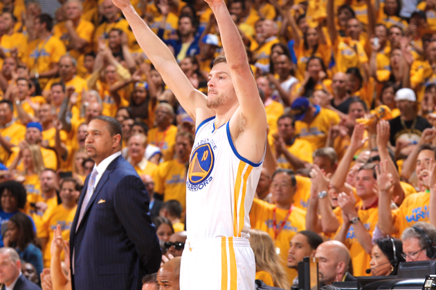David Lee Makes Surprising Appearance for Golden State Warriors