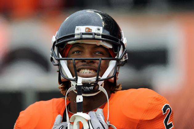 Oregon State Coach: WR Wheaton 'Will Cut Your Heart out to Make a Play